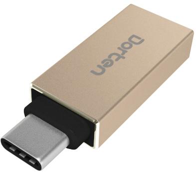 Dorten DN100404 - адаптер USB-C - USB 3.0 (Gold)