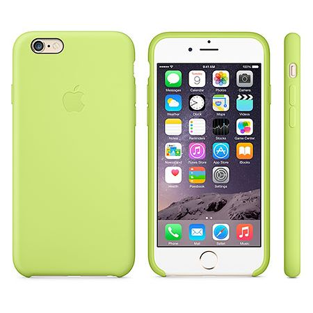 iPhone 6 Silicone Case (MGXU2ZM/A) - чехол для iPhone 6 (Green)
