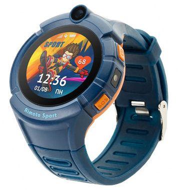 Кнопка жизни Aimoto Sport - часы-телефон с GPS и Wi-Fi (Blue)