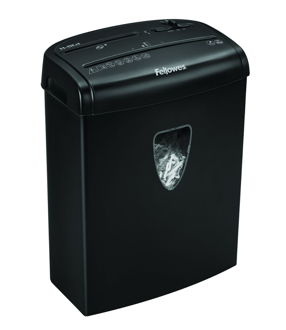 Powershred fellowes powershred m 8c black шредер