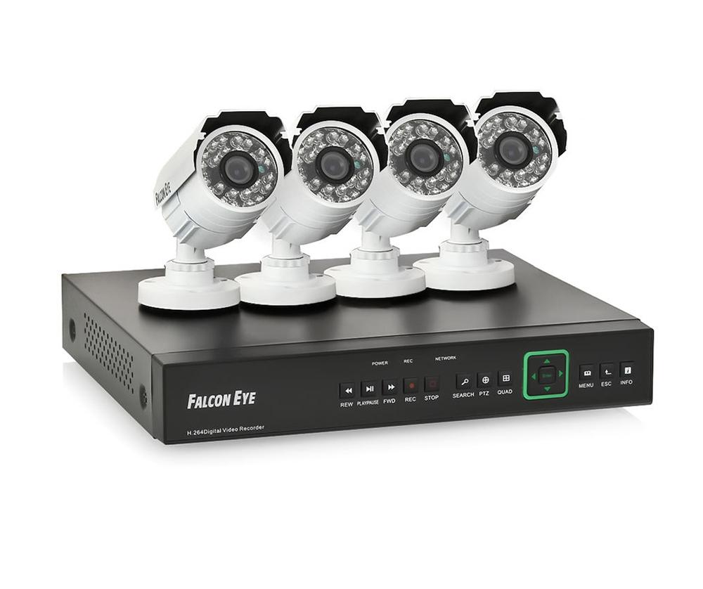 falcon eye Falcon Eye FE-104D KIT Дача - комплект видеонаблюдения
