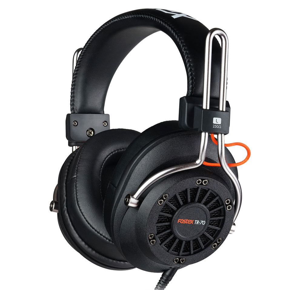 Fostex TR-70 80 Ом - полноразмерные наушники (Black)