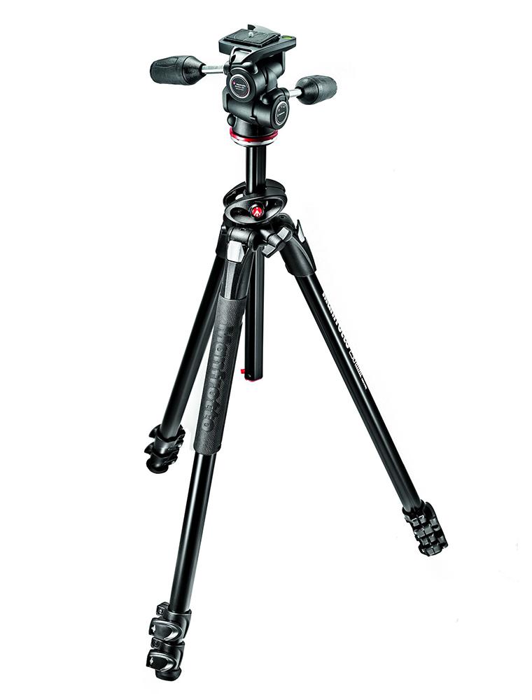 Manfrotto MK290DUA3-3W - штатив + 3D-головка для фотокамер