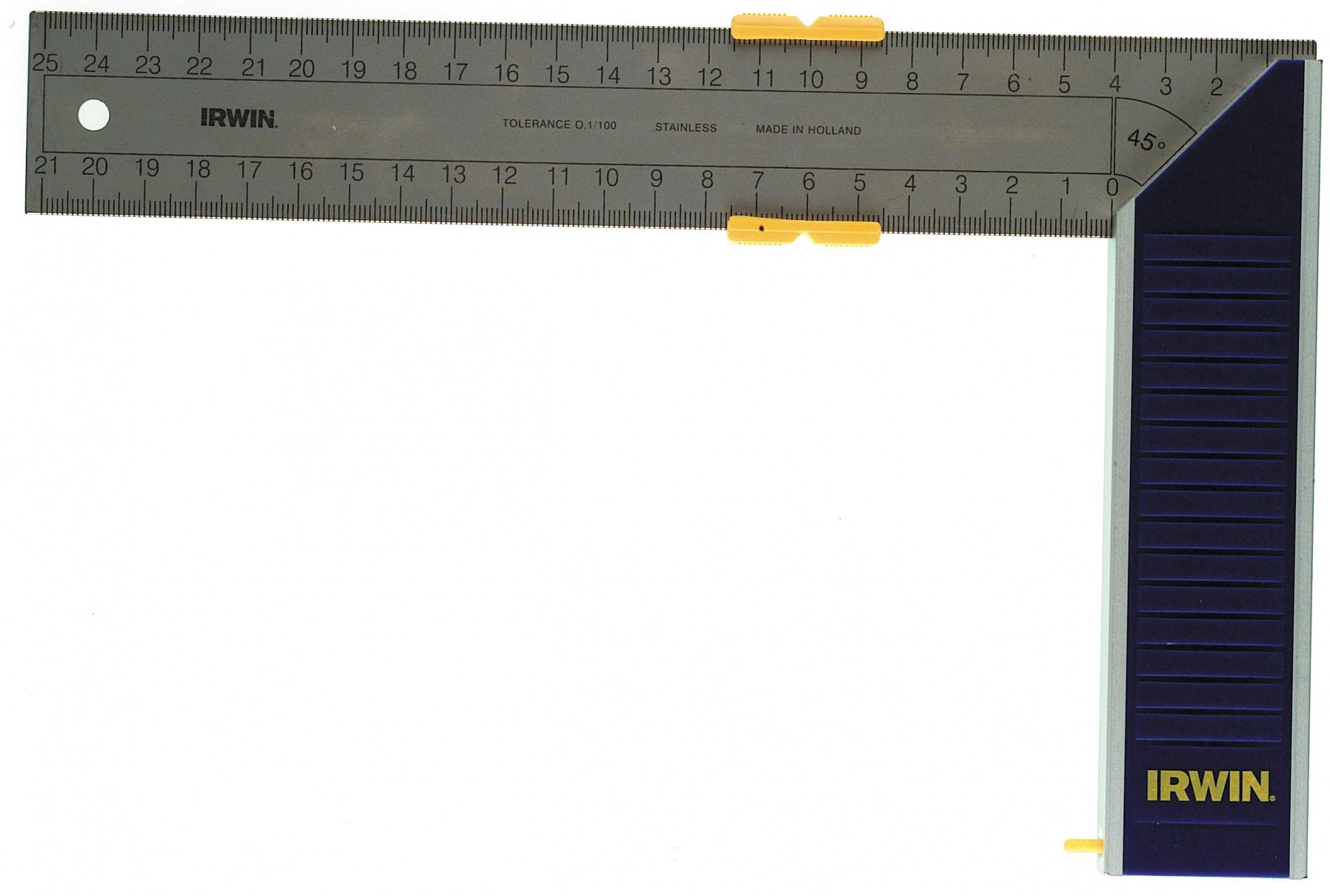 Irwin 250 мм (10503543) - угольник с бегунком