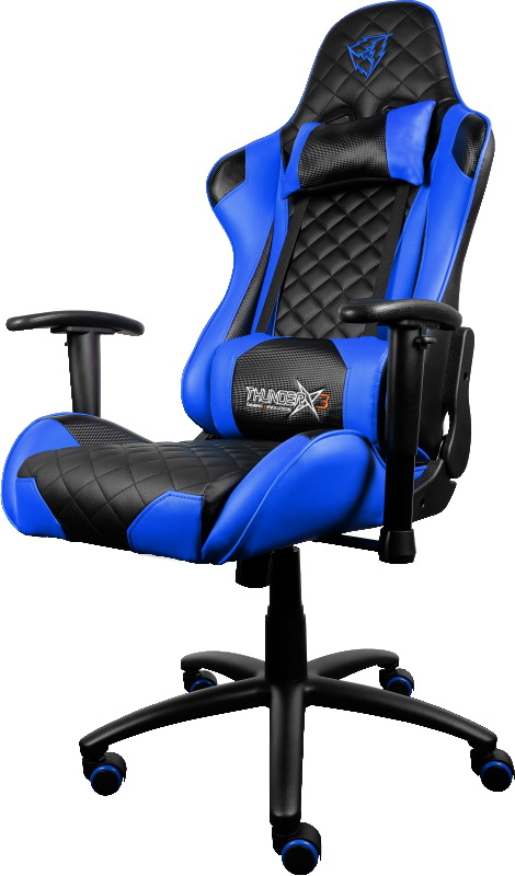 ThunderX3 TGC12 (TX3-12BB) - игровое кресло (Blue/Black)