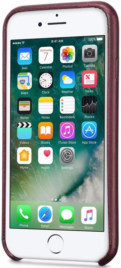 Чехол-накладка Twelve South Relaxed (12-1642) для iPhone 7 (Marsala)