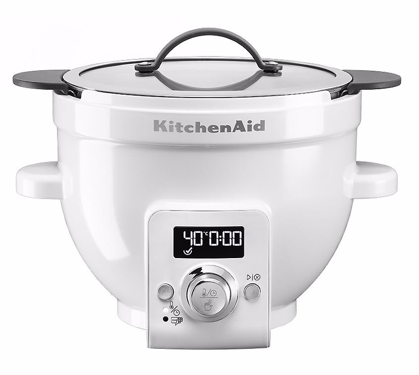 KitchenAid 4.7L (5KSM1CBET ) - чаша для смешивания с функцией плавного нагрева (Glass)Аксессуары к кухонной технике<br>Чаша для смешивания<br>