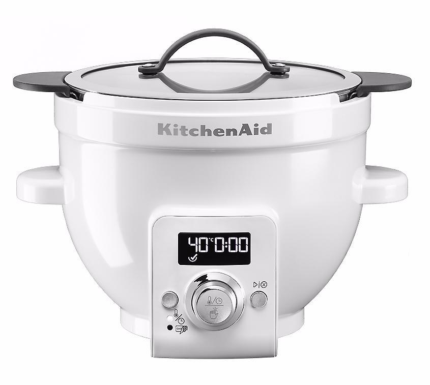 KitchenAid 4.7L (5KSM1CBET ) - чаша для смешивания с функцией плавного нагрева (Glass)
