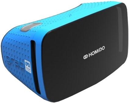 homido Очки виртуальной реальности Homido Grab (Blue)