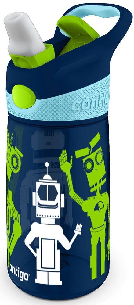 Contigo Striker (contigo0347) - детская бутылочка для воды (Dark Blue) от iCover