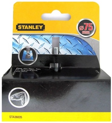 Stanley 36035-XJ - щетка чашечная стальная Fine для дрели D75 мм