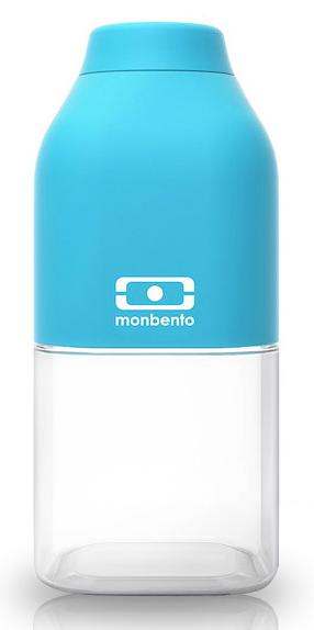 Monbento Positive 0,33 л - многоразовая бутылка (Light blue)