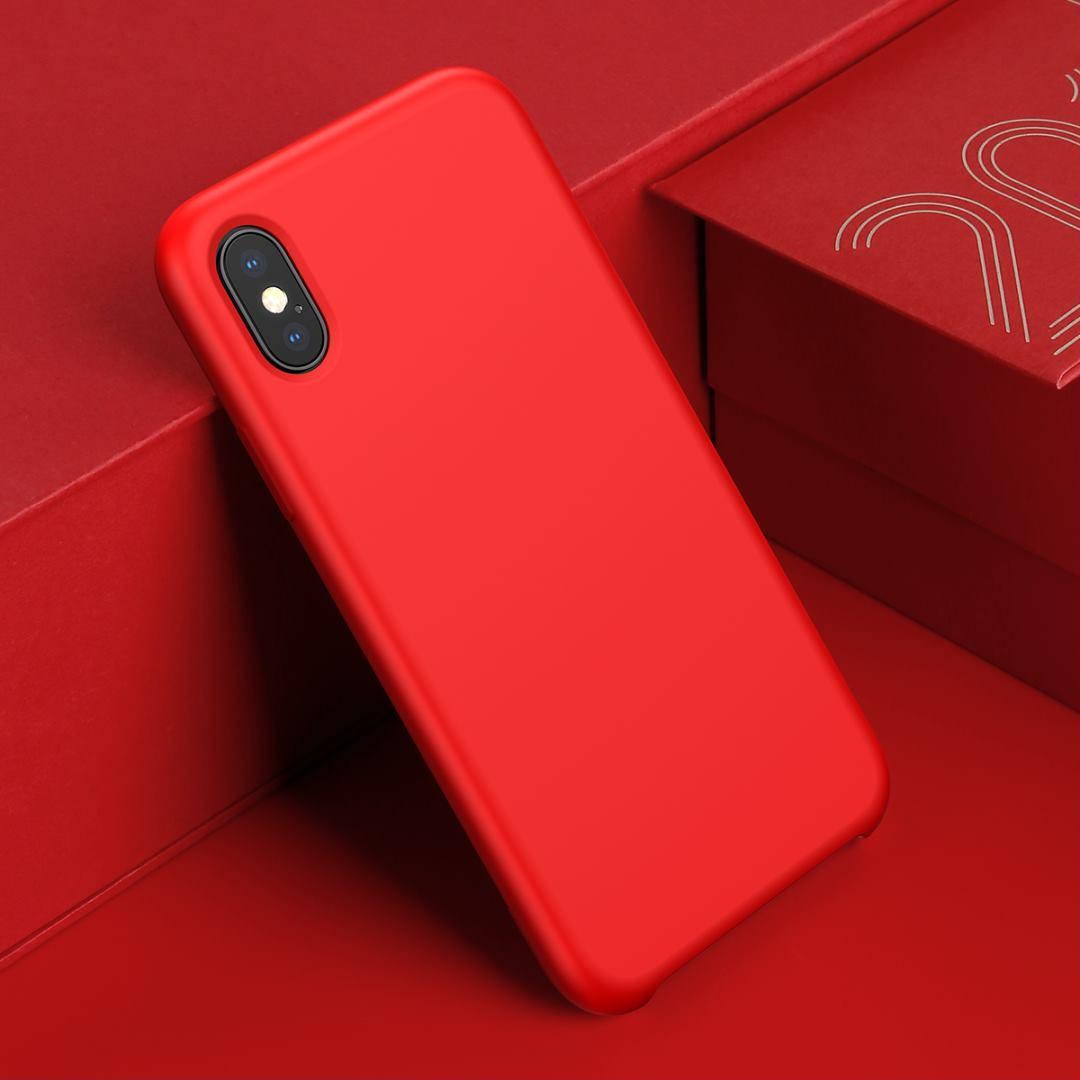 Чехол Baseus Original LSR (WIAPIPH65-ASL09) для iPhone Xs Max (Red)