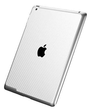 SGP Premium Protective Skin guard (SGP08859) - защитная пленка для iPad 2 / iPad 3 (Carbon White)