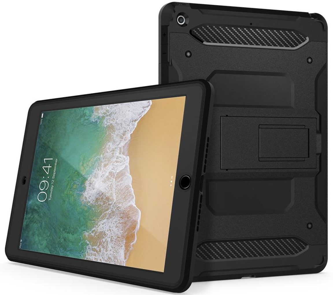Чехол-накладка Spigen Tough Armor Tech (053CS22776) для iPad 9.7 (Black)