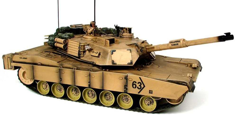 Hobby Engine М1A1 IR - радиоуправляемый танк (Sandy)