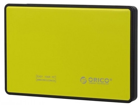 Orico 2588US3 - контейнер для HDD (Yellow)