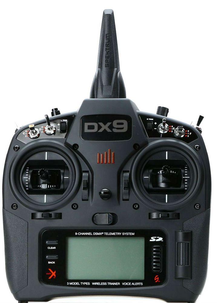 Spektrum DX9 + AR9020 - пульт радиоуправления с приемником