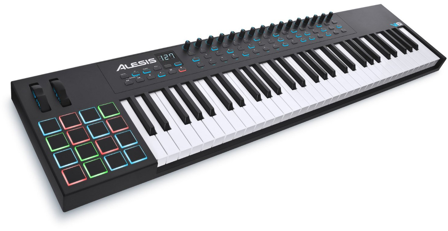 Alesis VI61 - миди-клавиатура (Black)