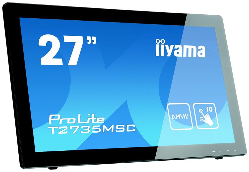 Монитор Iiyama ProLite T2735MSC-B2 27'' AMVA+ (Black)