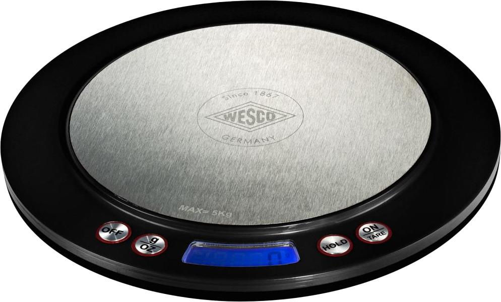Wesco 322251-62 - цифровые кухонные весы (Black)