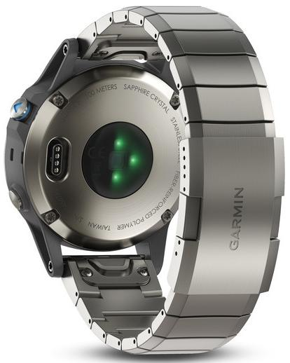 Спортивные часы Garmin Quatix 5 010-01688-42 (Sapphire/Silver)