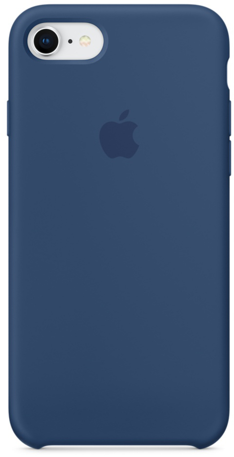 купить Чехол Apple Silicone Case MQGN2ZM/A для iPhone 7/8 (Blue Cobalt) онлайн