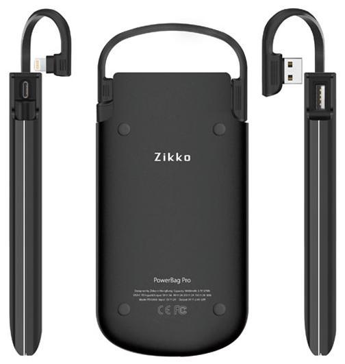 Внешний аккумулятор Zikko PowerBag 6000 (Black)