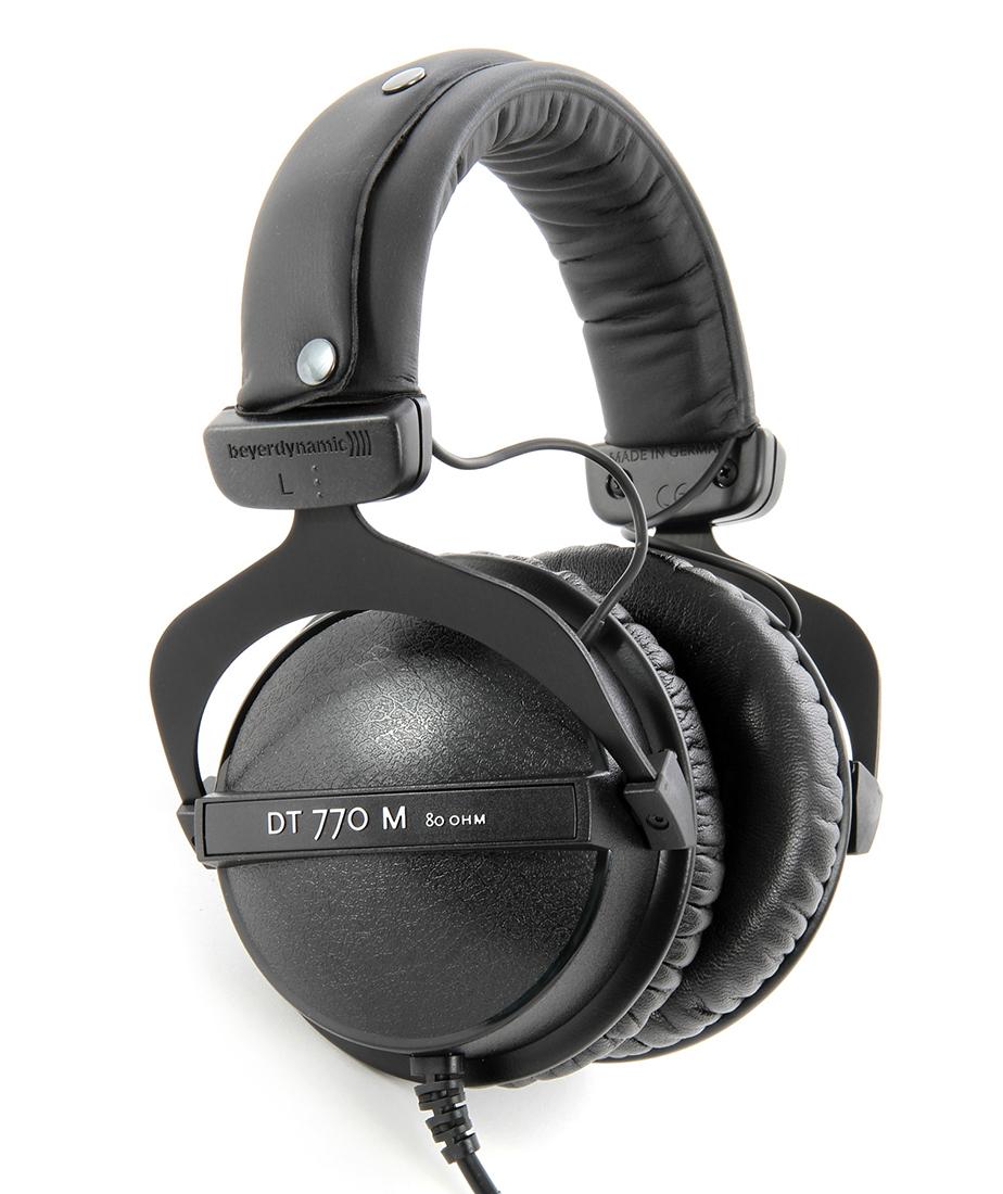Beyerdynamic DT 770M 80 Ohm - полноразмерные наушники (Black)