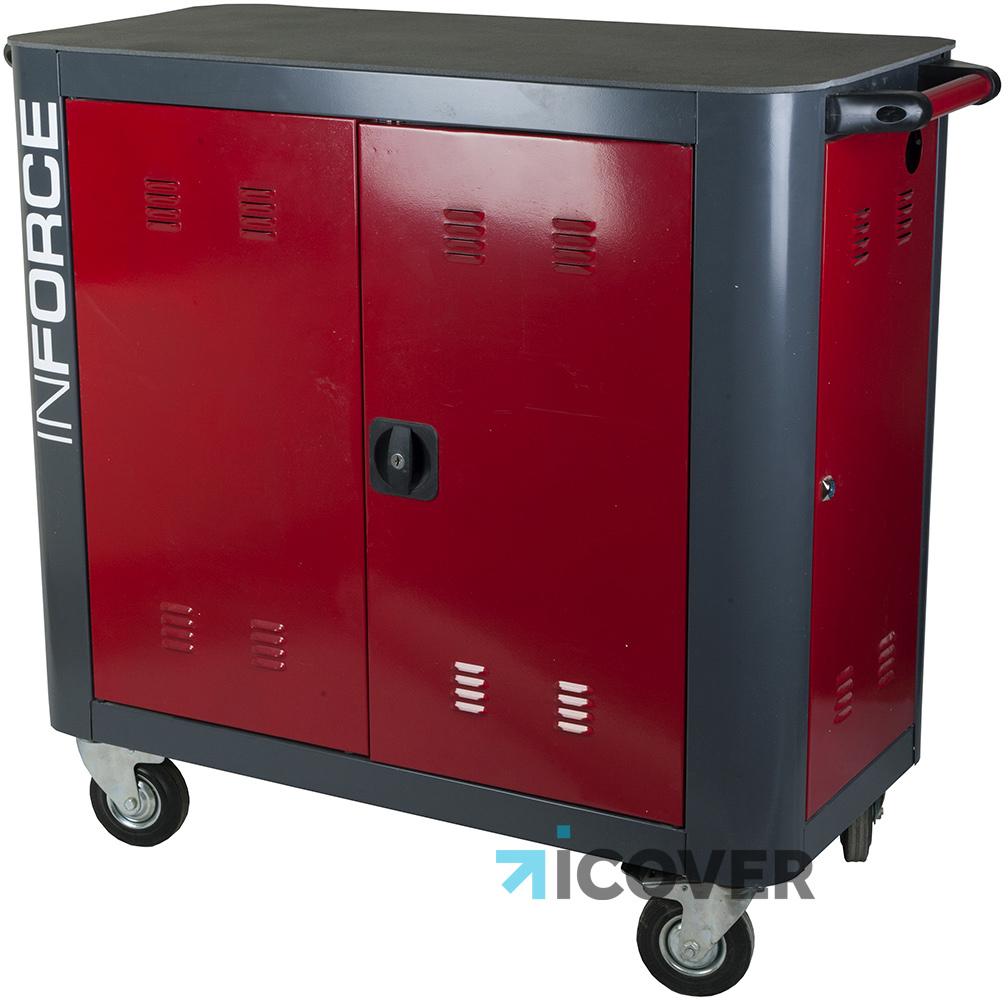 bretford Тележка Bretford Inforce (TX323LL/A) для ноутбуков (Red)