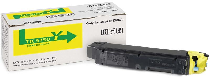 Kyocera TK-5150Y - тонер-картридж для P6035cdn/ M6035cidn/ M6535cidn (Yellow)