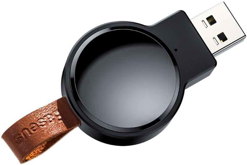Беспроводное зарядное устройство Baseus Dotter Wireless Charger для часов (Black)