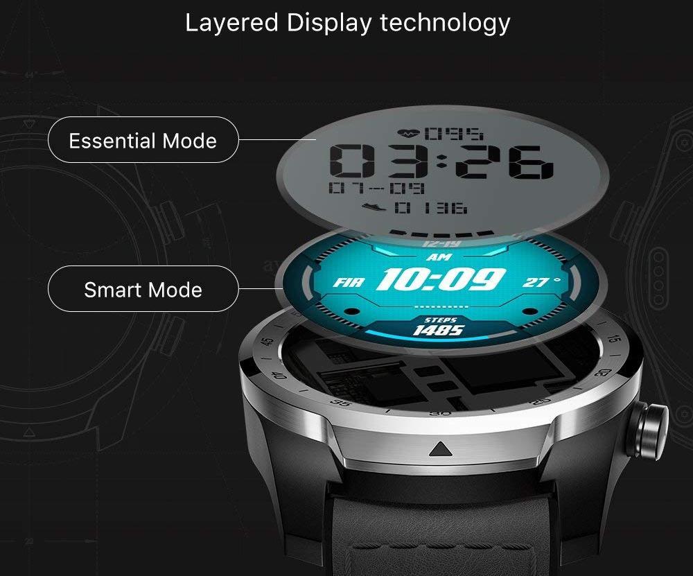 Умные часы Ticwatch Pro (Black)