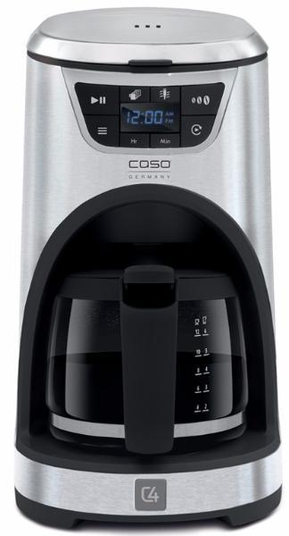 Caso Novea C4 - капельная кофеварка (Silver/Black)  caso f10