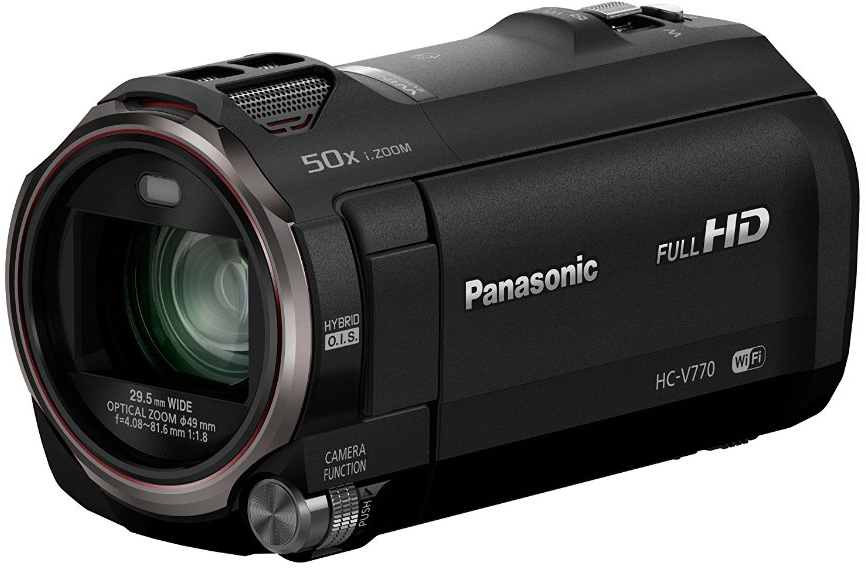 Panasonic HC-V770 - Full HD видеокамера (Black)Цифровые видеокамеры<br>Full HD видеокамера<br>
