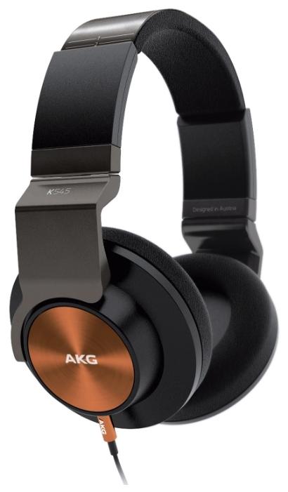 AKG K 545 - мониторные наушники (Black/Orange) от iCover