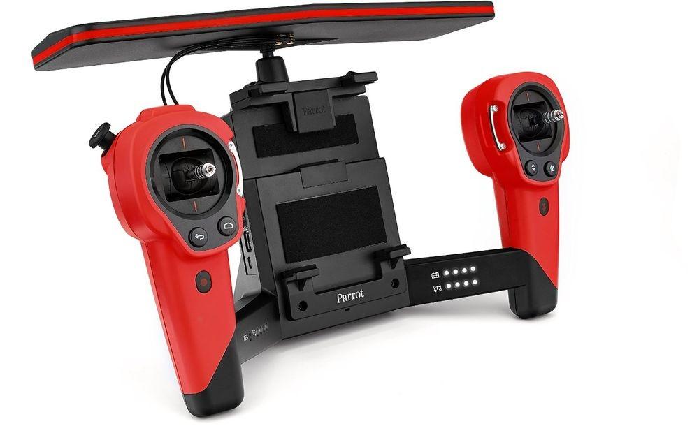 Parrot Bebop Drone + Skycontroller - квадрокоптер с пультом дистанционного управления (Red)