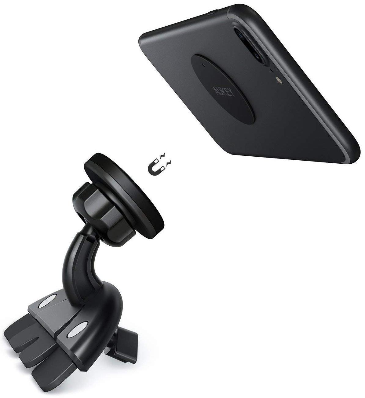 Автомобильный держатель Aukey HD-C40 (Black)