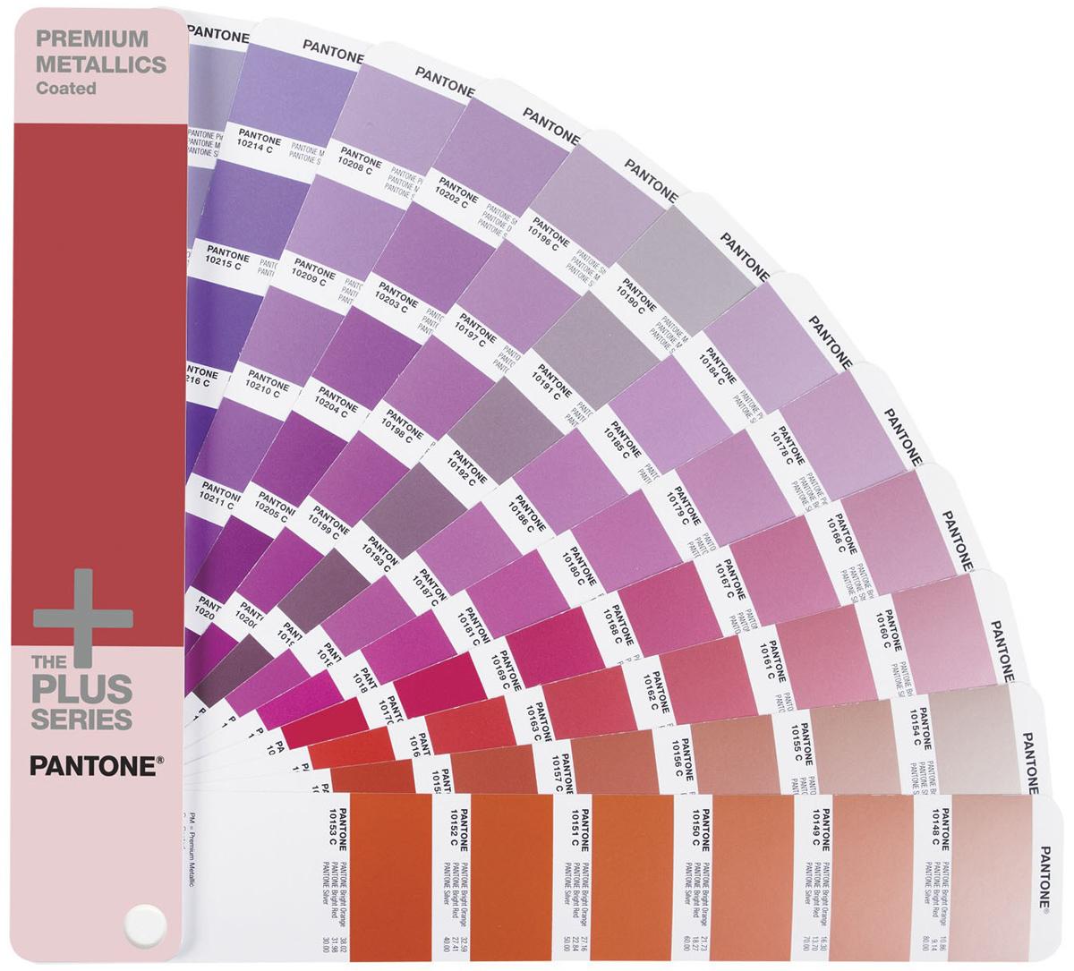 Купить Pantone Premium Metallics Guide Coated (GG1505) - цветовой справочник