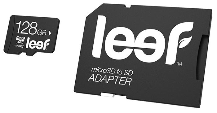 Leef Mobile Memory Card microSDXC 128Gb Class 10 (LMSA0KK128R5) - карта памяти с адаптером (Black)