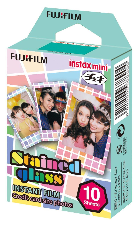 Fujifilm Instax Mini (inst_glass) - картридж для фотоаппарата (Stained Glass) instax