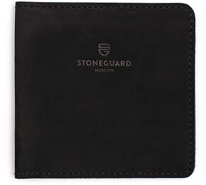 Stoneguard 311 - кожаный кошелек (Black)