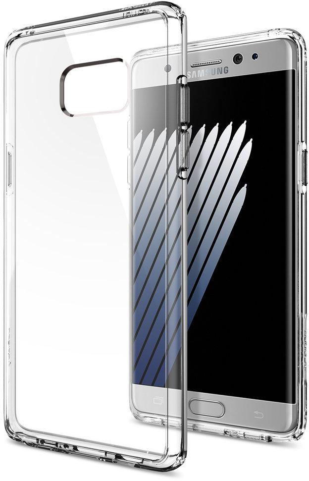 Spigen Ultra Hybrid (562CS20555) - чехол для Samsung Galaxy Note 7 (Crystal Clear)
