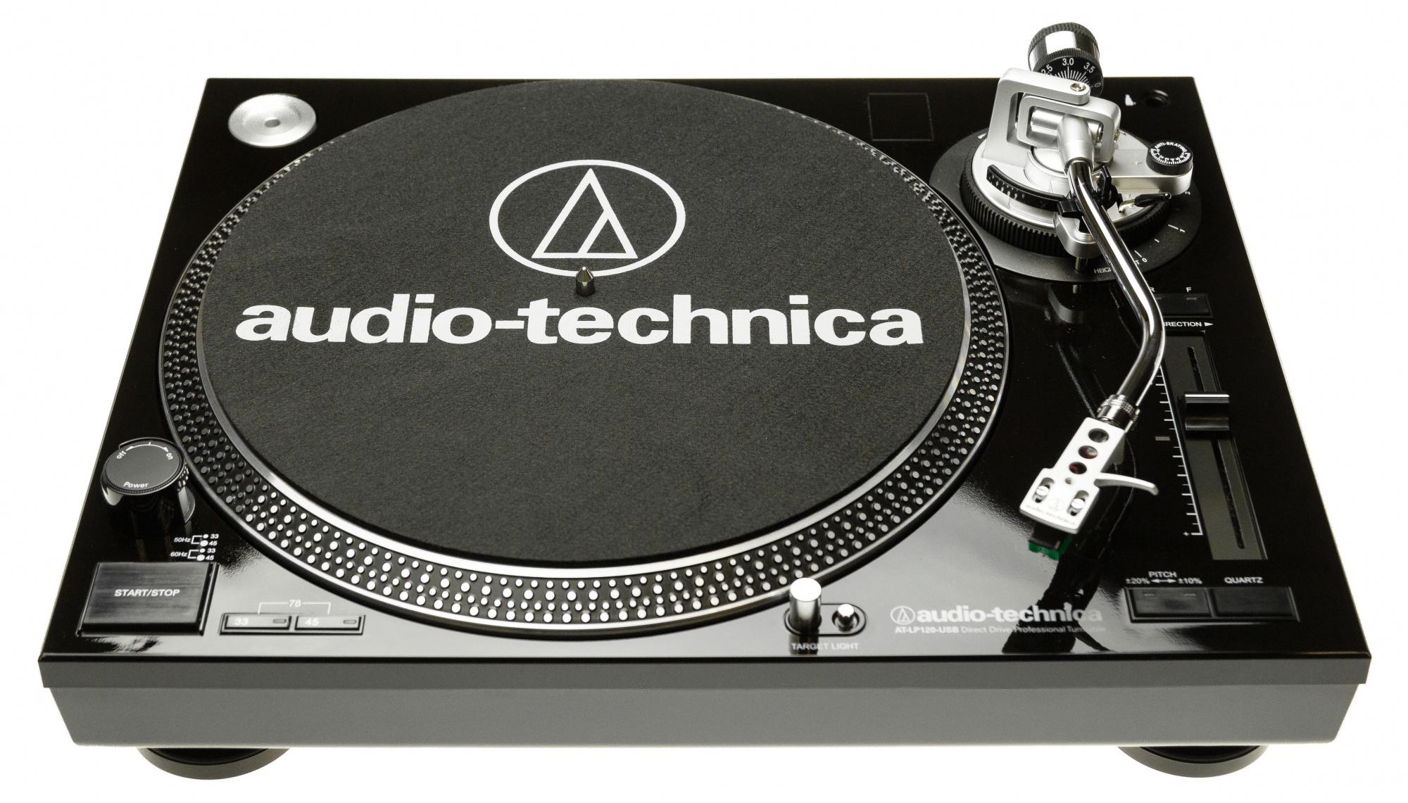 Audio-Technica AT-LP120USBHC - проигрыватель виниловых пластинок (Black)