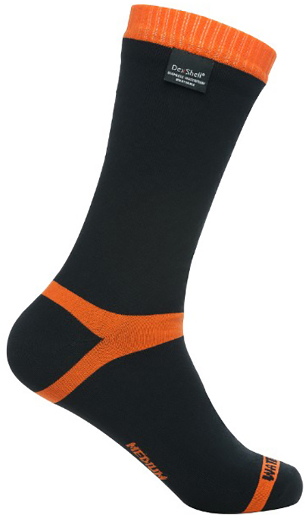 Dexshell Hytherm Pro XL (DS634XL) - водонепроницаемые носки (Black/Orange)  - купить