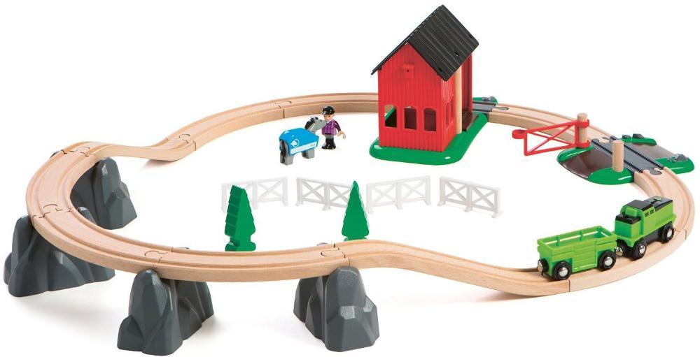 Деревянная железная дорога