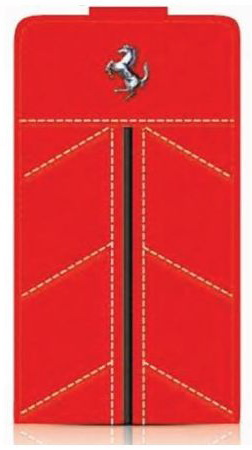 Ferrari Flip California (FECFFL5R) - чехол для iPhone 5/5S/SE (Red)