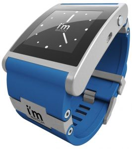 i m Watch Smartwatch - умные часы для iPhone 5S/5C/4S (Blue)