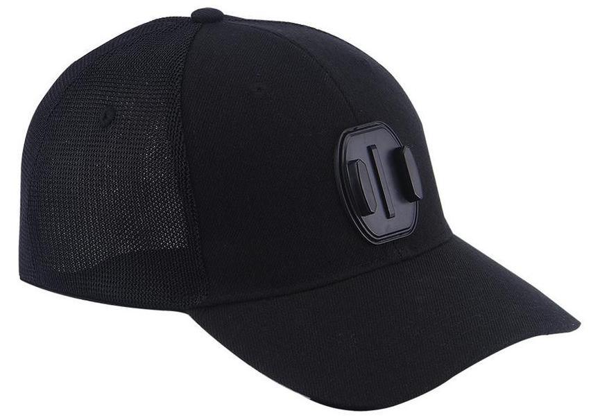 Smatree Baseball Hat H2 - бейсболка с креплением для камер Go Pro (Black)