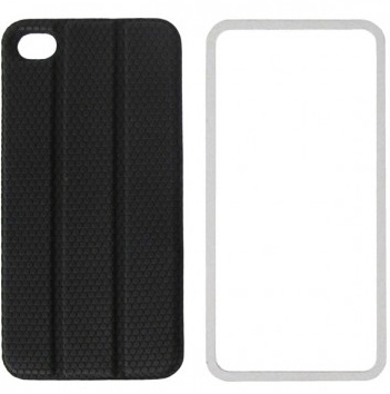 TidyTilt - чехол для iPhone 4/4S (Black) чехол для iphone 4 iphone 4s bb mobile попугай